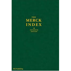 The Merck Index 15th Ed. 2013 Chemistry Books