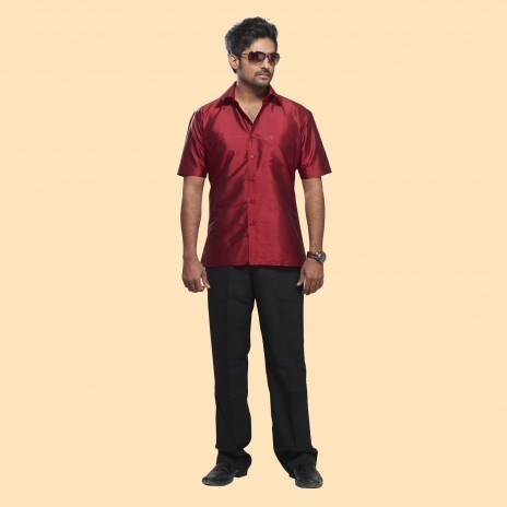 895e951ac0109f Silk shirts - Silk Shirt Pink Manufacturer from Salem