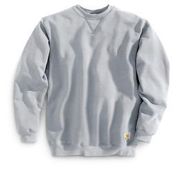 Grey Round Neck Synthetic Sweatshirts