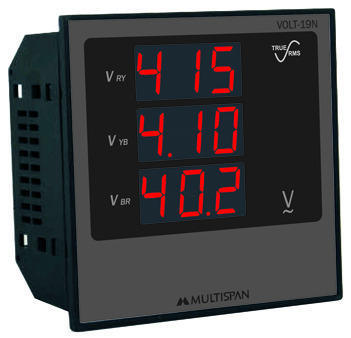 Multispan Digital Meter for Industrial, Model: AVH-13N