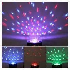 Reolite Plastic Crystal Ball LED, 250V