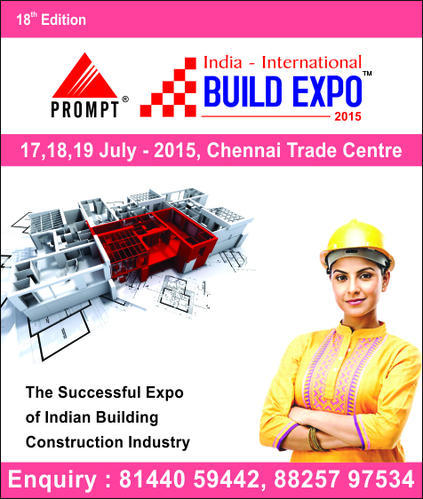 India-International Build Expo Trade Fair in Thousand Lights