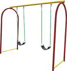 Double Arch Swing Belt Playground Swing