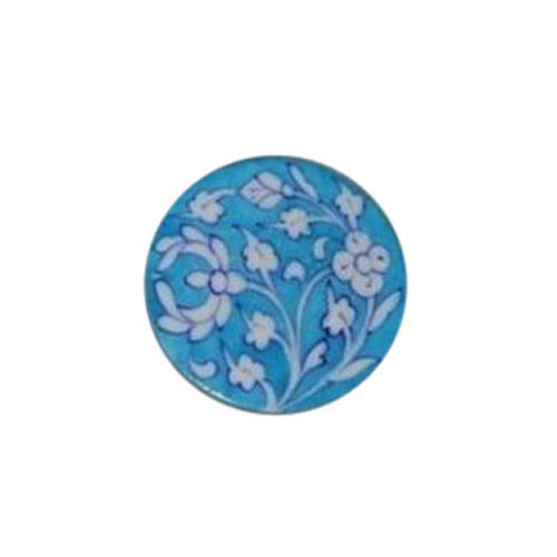 Sky Blue Pottery Coaster