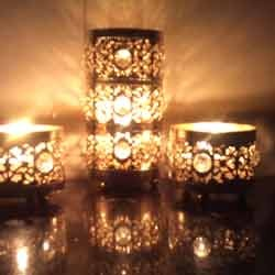 Crystal Tee Light Holders