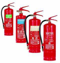 Metal Alloy Water CO2 Type Fire Extinguisher, Capacity: 5Kg