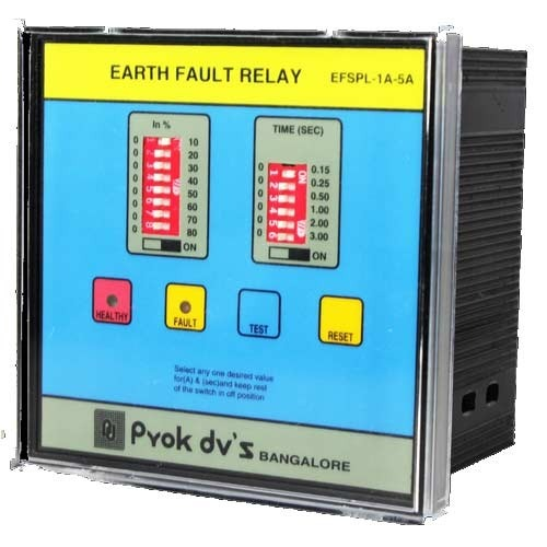 Static Earth Fault Relay  Relays And Contactors