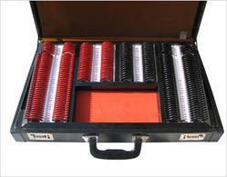 Trial Lens Set Illuminated Leather Case