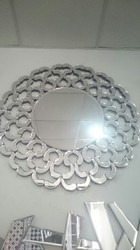 Flower Shape Mirror