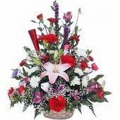 Assorted Flowers Basket
