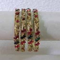 Golden Red Bangles Sets