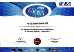 Epson Certified