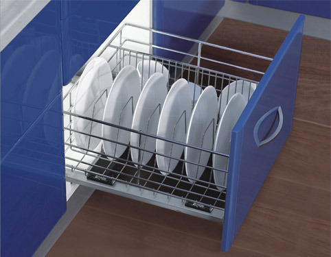 Modular Kitchen Accessory Thali And Plate Basket
