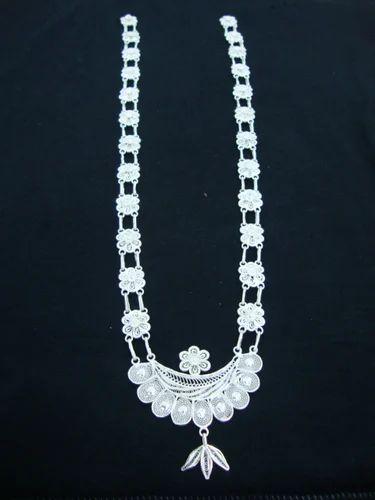 e940869f6 Silver Filigree Odissi Dance Ornaments - Radha Jewellers