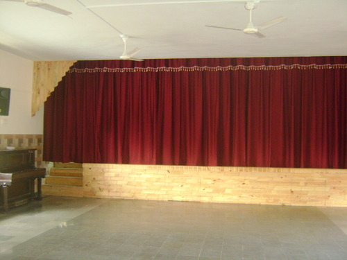 Auditorium curtains manufacturers in mumbai curtain for Motorized curtains home theater