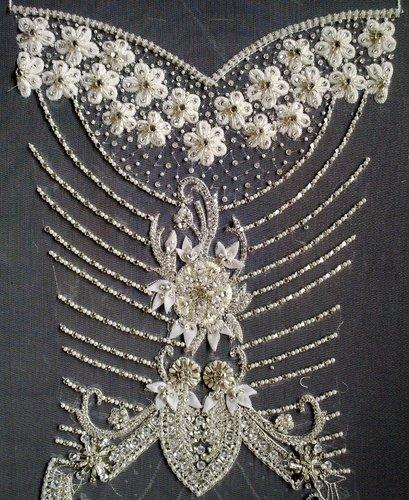 Embroidery Designs for Wedding Dresses