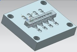 Plastic Chess Mould Large Size