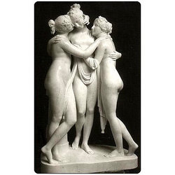 GA-4055 Marble Figurative Sculpture