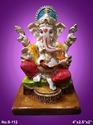 God Statue Fiber Ganesh Statue, Temple And Table Show Piece , Uses: Home Decor