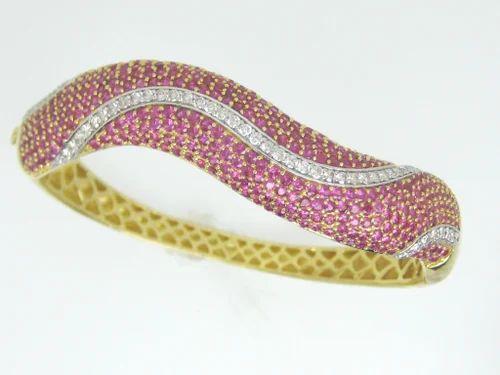 df8e23698ac63 Stylish Ruby-Diamond Bracelet - View Specifications & Details of ...