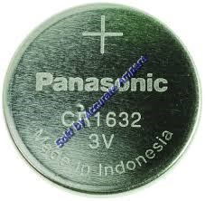 PANASONIC CR1632 3V Coin Cell Batteries