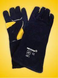 Black Heavy Duty Welding Gloves