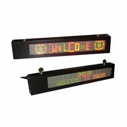 LED Moving Display