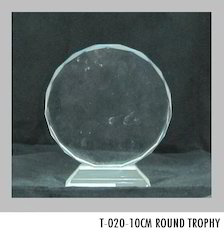 10 cm Crystal Trophies