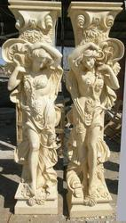 Antique Marble Pillars