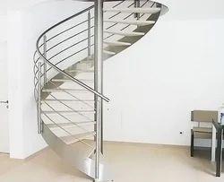 Modern Stainless Steel Spiral Railing