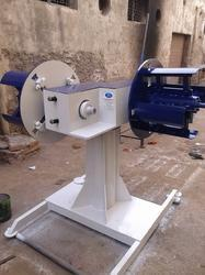 SPA Non Motorized Double Side Decoiler, Standard, Production Capacity: Coustomized