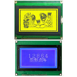 128 x 64 Dots Graphic LCD Display Module