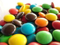 Colorful Chocolate Beans Like Gems