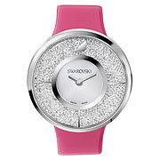 Crystalline Watch Set With Interchangeable Straps
