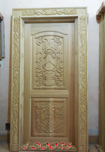 Cnc door carving work cnc door carving photos for Wood carving doors hd images