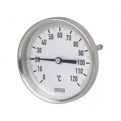 WIKA Stainless Steel Temperature Gauge A 5501/4 (160MM Dial)