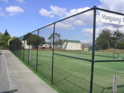 Tennis Court Chain Link Fencing Sports India Kolkata