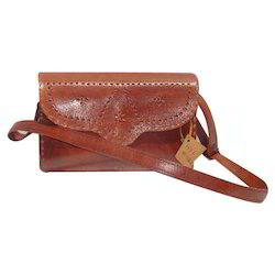 Ladies Embroidered Leather Bags