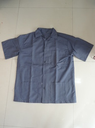 Shirt Apron (Grey Colour)