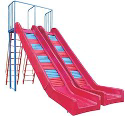 Roller Slide FR Plastic Playground Equipment