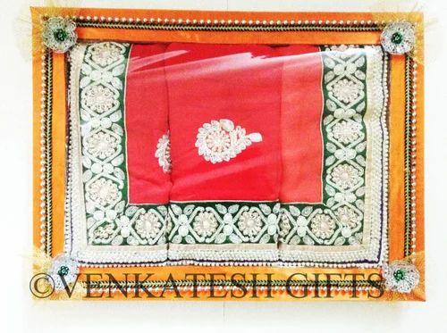 Decorative Wedding Saree Tray At Rs 40 Single Saree Pack Karne Magnificent Saree Tray Decoration