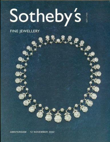 Sotheby Fine Jewellery Amsterda 12 November 2002