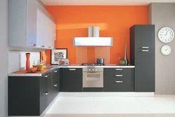 L Shaped Modular Kitchen Designing In Maduravoyal Ayyavoo Nagar