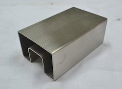 Stainless Steel Rectangular Slot Pipe