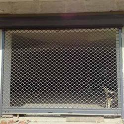Metal Full Height Grill Rolling Shutters