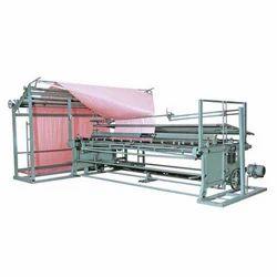Fabric Single-Double Folding & Plating Machine