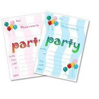 Party Invitation Cards Printing Service