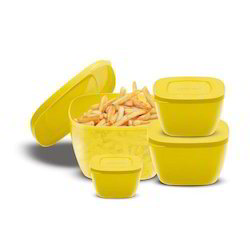 GOODDAY Dark Yellow Small Shine Container Set