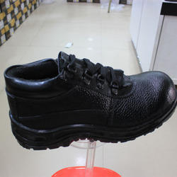 Black Safety Leather Shoes