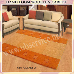 Hand Loom Woolen Carpet